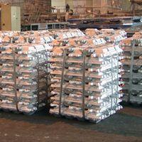 Aluminum Ingots, Zinc Ingots, Copper Ingots, Steel Ingots, Lead Ingots.