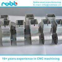 aluminum alloy industrial robot Turbine & worm CNC machining quotation
