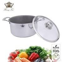 Titanium soup pot size in 24-26cm
