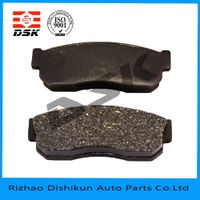 excellent quality low noise auto part brake pad 7251-D233
