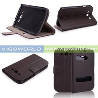 New Arrived Eco-friendly Custom Design Factory Price Leather Flap Mobile Phone Case For Samsung Gala