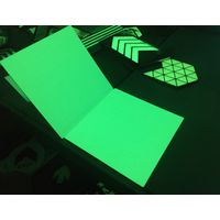 PL rigid board Glow in the dark sheet Photoluminescent board