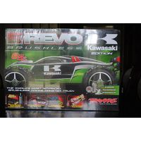 Traxxas eRevo Brushless Kawasaki Limited Edition 1:8th Scale - Mamba Monster