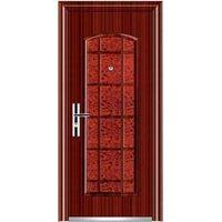 steel entry door with security door lock thumbnail image