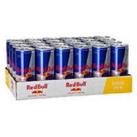 Redbull energy drinks available from Austria
