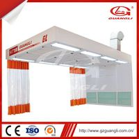 Professional Factory Supply Reliable Quality Movable Auto Prep Room for Car Painting
