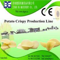 Extruded Potato Crispy Chips Snack Pellets Machine Production Line thumbnail image