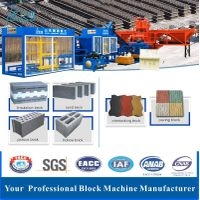 Full Automatic Production Line Hydraforming Pressure Vibration Cement Brick Block Making Machine thumbnail image