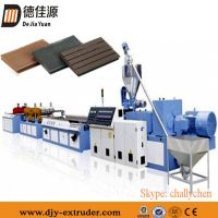 PVC Wood Plastic Foamed Plate/Board Making Machine Production Line