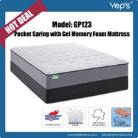 Roll Up Pocket Spring with Cool Gel Memory Foam Mattress