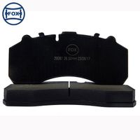 FOX brake pad for Mercedes-Benz Actros/ SAF 29087