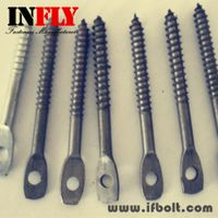 Flat head screw with hole,Squashed head bolt-Infly Fasteners