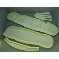 cnc machined plastic prototype part in abs,pc,pmma,pa,peek