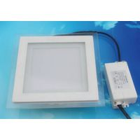 Square LED Ceiling Light With Color Glass thumbnail image