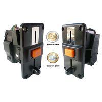 Euro only coin validator Acceptor slot selector