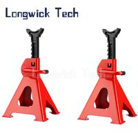 Vehicle Adjustable Repair Supporting 2/3/6ton Lifting Hoist Welded Steel Jack Stand