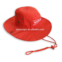 polyester material embroidery plain color cowboy hat