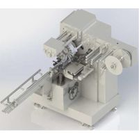 Automatic top twist wrapping machine