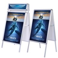 A-Board stand single side
