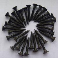 black phosphated drywall screw