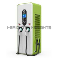 Ev AC charging station with 32inch advertising display