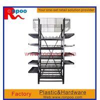 Supermarket display stand,Chain stores display racks,metal display racks,Standing Metal wire display thumbnail image
