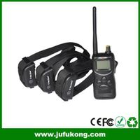 1000M 3 Dog Training Collar Rechargeable Waterproof
