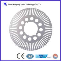 permanent magnet motor stator rotor laminations