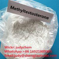 High purity Steroid Raw Methyltestosterones powder CAS 58-18-4 manufacturer in stock Wickr:judychem