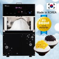 Snow ice flake Bingsu Machine sulbing ice maker BingsBings Small Korean Ice Cream Machine