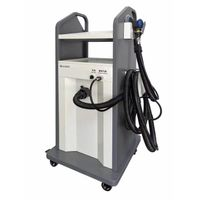 Pneumatic car body repair machine with dust free grinding system thumbnail image