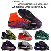 Wholesale Hypervenom Phantom fg Men Women Soccer Shoes Hypervenom Phantom Soccer Boots Free Shipping