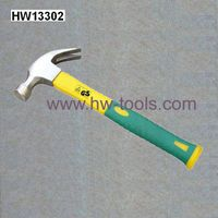claw hammer carbon steel forged fibreglass handle