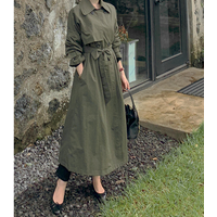 Nice Awesome Trench Jackets with Luz and Long classical fit
