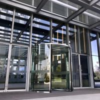 Crystal Automatic Revolving Door  Three Wings Automatic Revolving Door