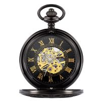 Custom Your Logo Japan Movt mechanical Pocket Watch From Professional Factory