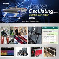 Oscillating knife cutter machine AKZ1625 shipping to Korea thumbnail image
