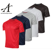 Men's Summer Fashion Casual Plain Quick Dry T Shirt