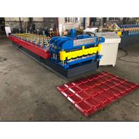 Hydraulic 820 mm glazed tile press roll forming machine