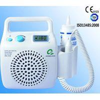 CE approved portable fetal doppler