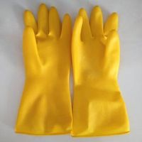 household cleaning rubber gloves latex working gloves