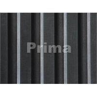 broad deep ribbed rubber mat