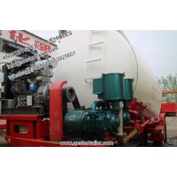 40/50/60 m³/cbm 2/3 axles pneumatic cement/powder tanker trailer