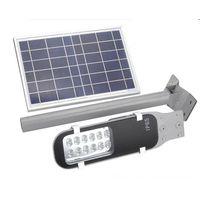 LED Street Light Solar Sensor Lighting Outdoor Spot Light 360 degree Rotable Panel Waterproof Solar