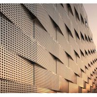 Fashion design perforated metal sheet, perforated aluminum exterior wall panel thumbnail image