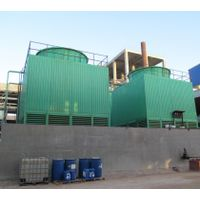 Cooling tower for potassium sulfate production line