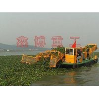 Water Hyacinth Harvester