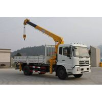 Dongfeng cargo truck with 8tons crane for sale 008615826750255 (Whatsapp)