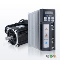 China Cheap NEMA 34 AC servo motor 750w/0.75kw with driver kit