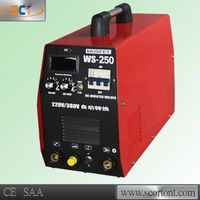 Three phase 380 or 220v output 250A inverter IGBT tig welding WS-250